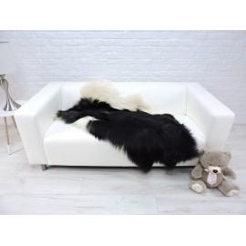 Luxury real fox fur throw blanket 893