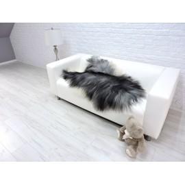 Luxury real fox fur throw blanket 896