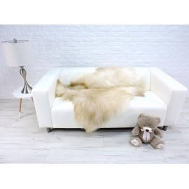 Genuine lambskin fleece throw 932