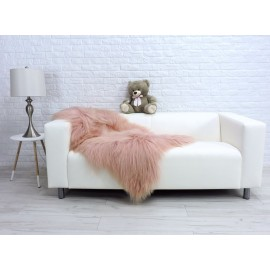 Luxury real fox fur throw blanket 948