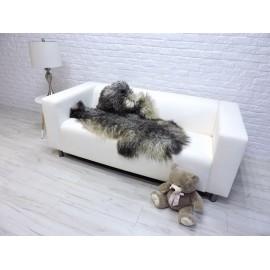 Luxury real fox fur throw blanket 970