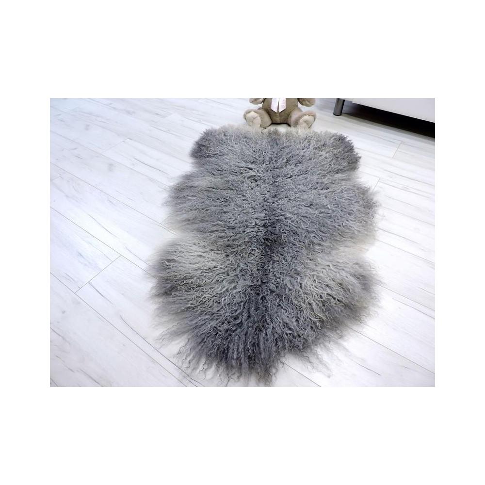 Genuine Tuscan lambskin fur throw 979