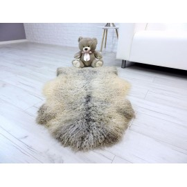 Genuine Tuscan lambskin fur throw 990