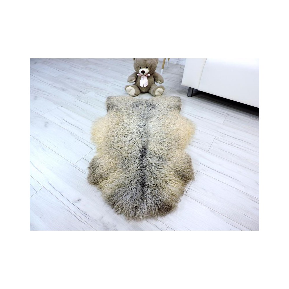 Genuine Tuscan lambskin fur throw 984