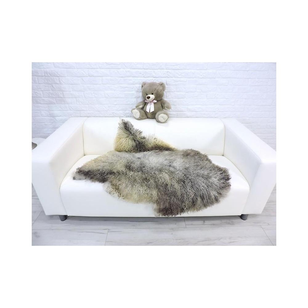 Genuine Tuscan lambskin fur throw 985