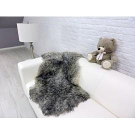 Genuine Tuscan lambskin fur throw blanket 04