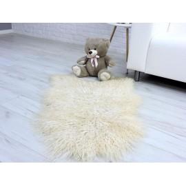 Genuine Tuscan lambskin fur throw blanket 01