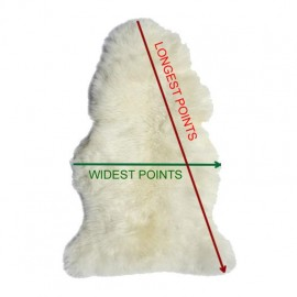 Genuine rabbit fur throw i02