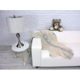 Luxury real kalgan fur throw/blanket 173
