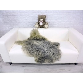 Amazing genuine marten fur throw blanket 549