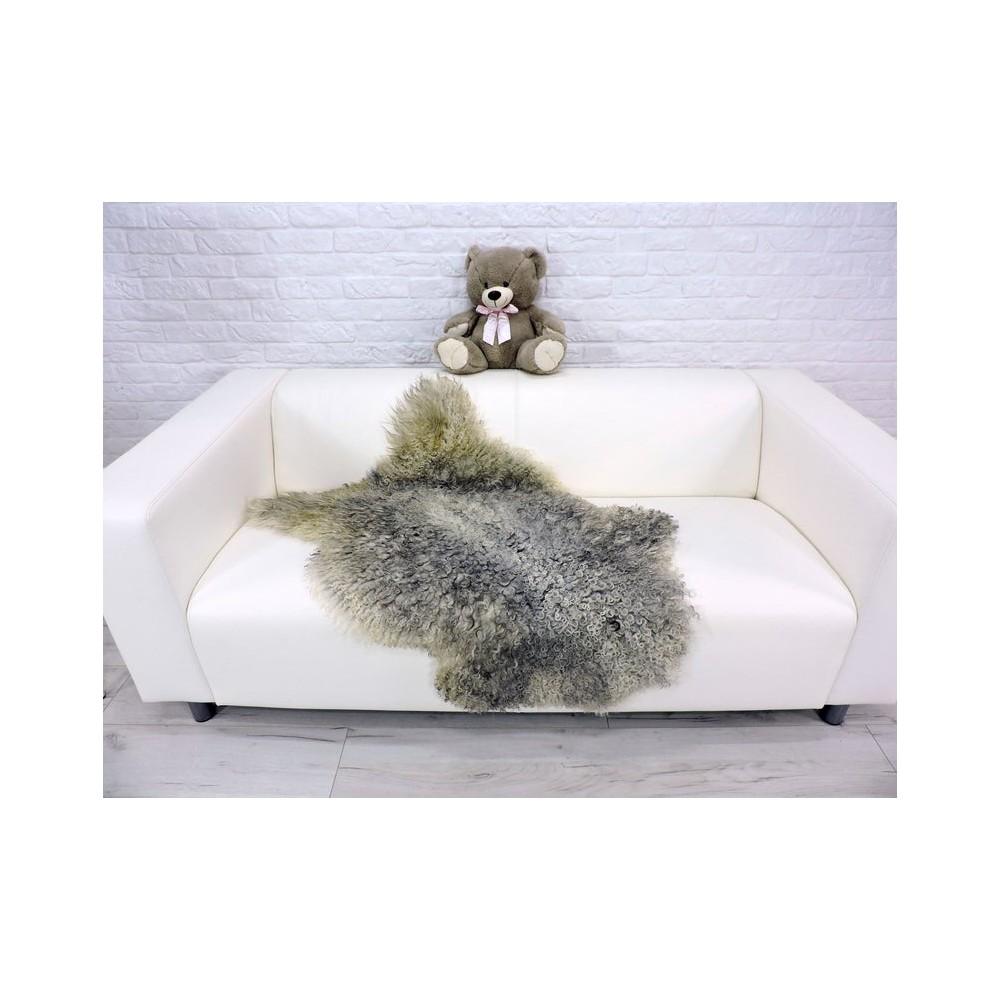 Amazing genuine marten fur throw blanket 549