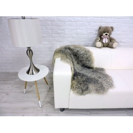Amazing genuine canadian marten fur throw blanket 556