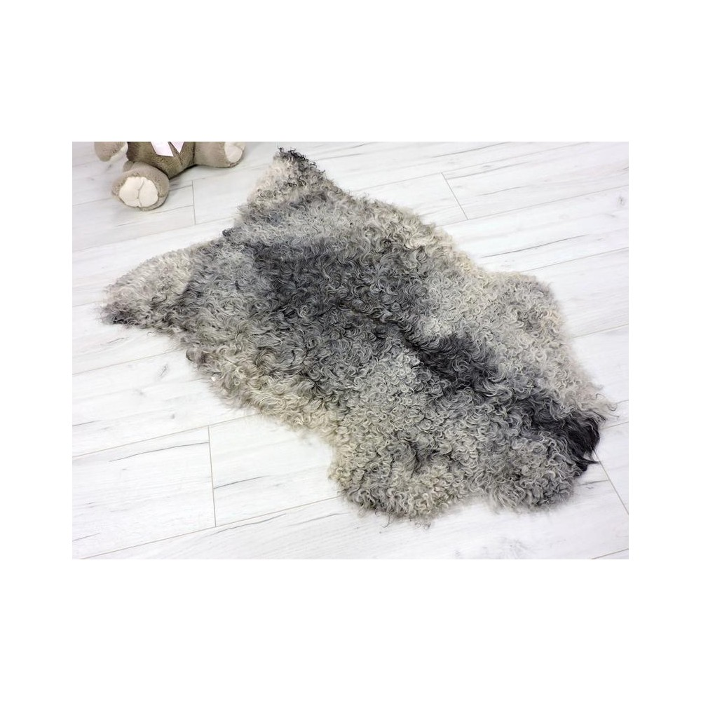 Luxury real fox fur throw blanket 861