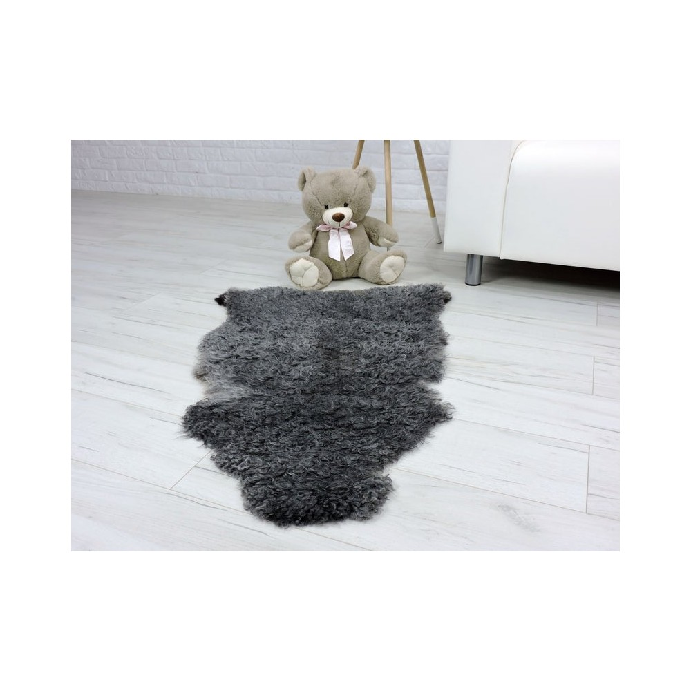 Genuine rabbit fur throw blanket 999