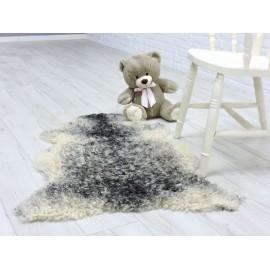 Luxury real nutria fur throw/blanket 019