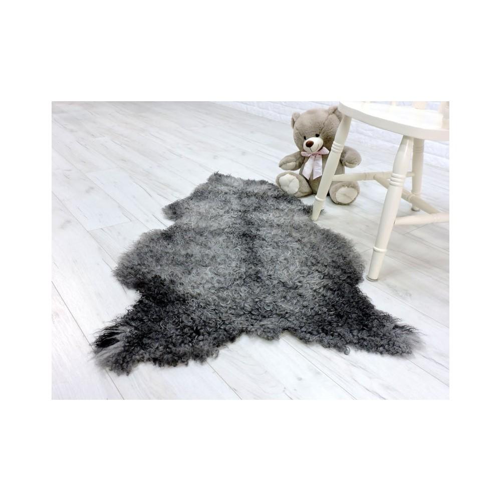 Genuine Italian lambskin fleece throw 023