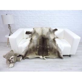 Genuine Tuscan lambskin fur throw blanket 33