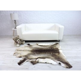 Genuine Tuscan lambskin fur throw blanket 34