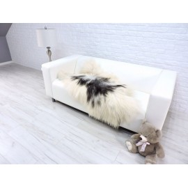 Luxury real kangaroo fur throw blanket 042