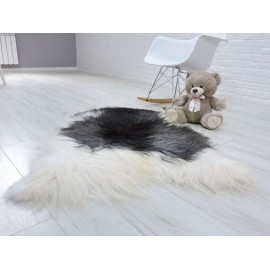 Amazing genuine canadian marten fur throw blanket 069