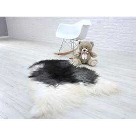 Amazing genuine canadian marten fur throw blanket 069
