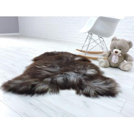 Amazing genuine canadian marten fur throw blanket 074