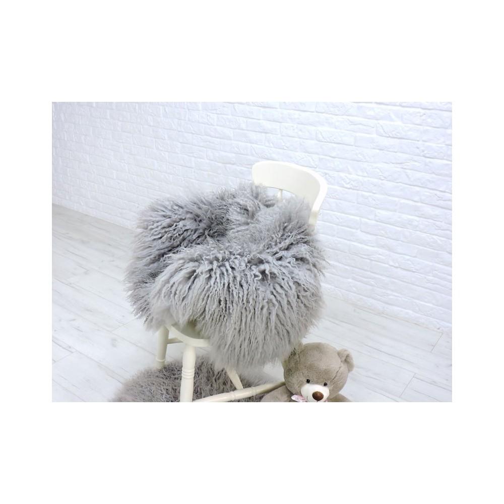 Luxury real fox fur throw blanket 078