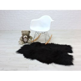 Luxury real fox fur throw blanket 083