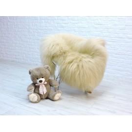 Luxury real fox fur throw blanket 085