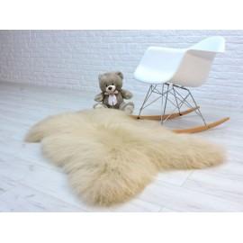 Luxury real fox fur throw blanket 092