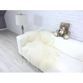 Luxury real silver fox fur paws throw blanket 113