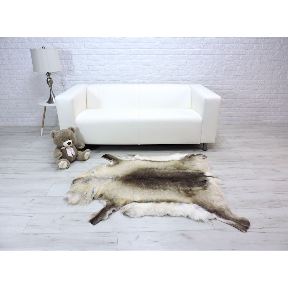 Amazing genuine mink shiny fur throw blanket 142