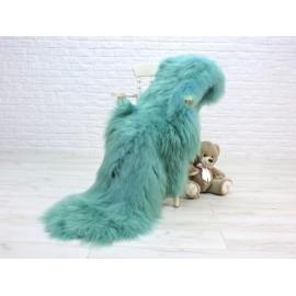 Luxury real mink fur throw 505a