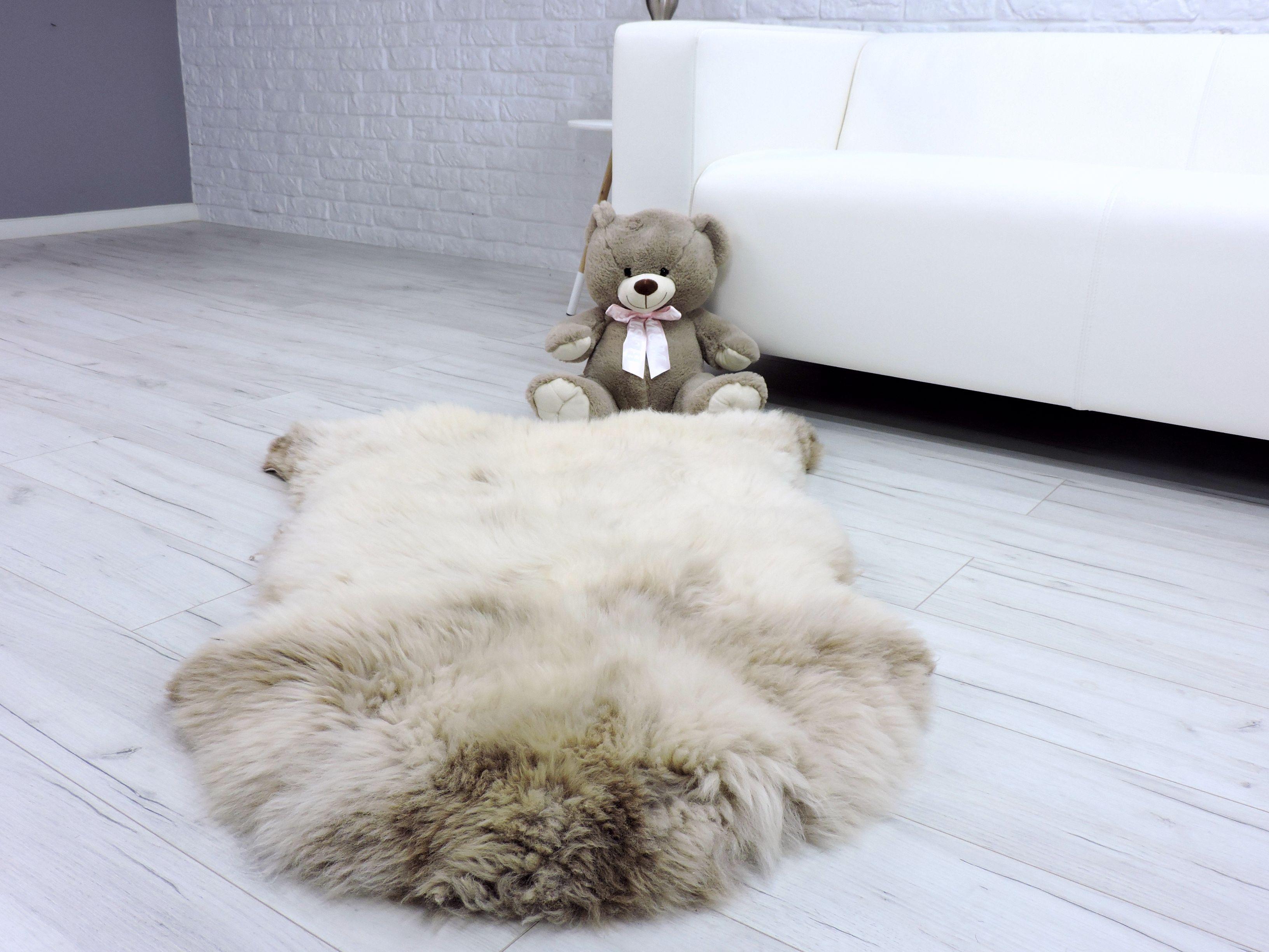 Peau De Mouton Grise Ikea détails sur tapis peau de mouton véritable britannique simple crème  fourrure shag Épais 242
